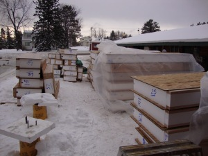 "Structural Insulated Panels with 10"" EPS core"